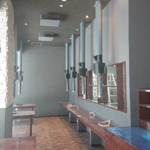 鹿児島市 新規焼肉店施工状況